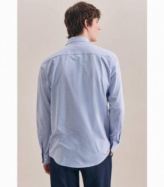 Jerseyhemd Regular Fit Lange mouwen Strepen