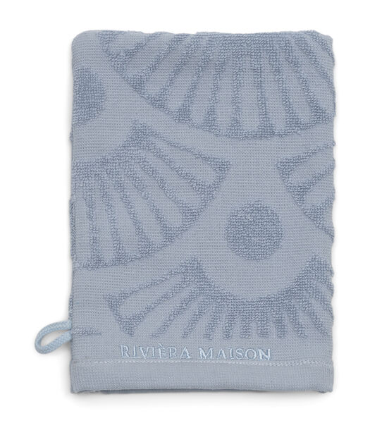 RM Wave Wash Cloth light blue