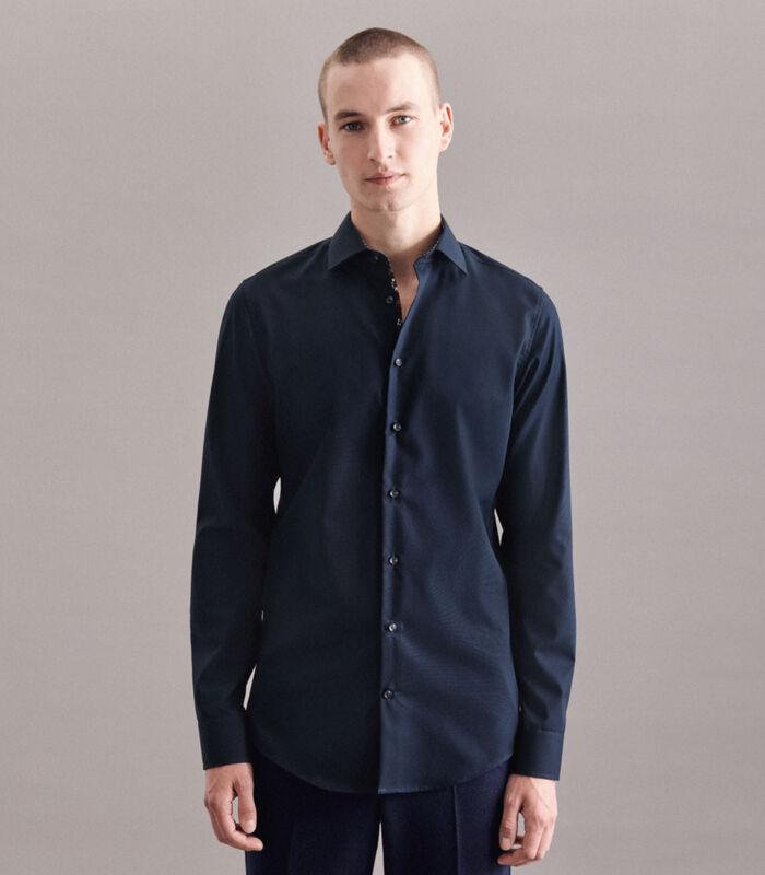 Overhemd Shaped Fit Extra lange mouwen Uni image number 0