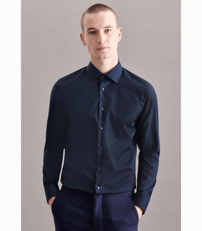 Overhemd Shaped Fit Extra lange mouwen Uni image number 4