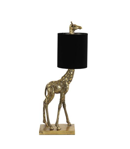 Tafellamp Giraffe - Goud/Zwart - 26x16x61 cm