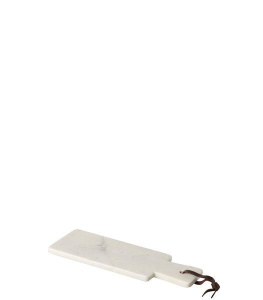 Plank Rechthoek Marmer Wit Small