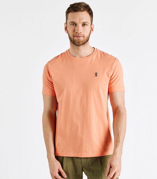 T-shirt ajusté col rond TRAVIS