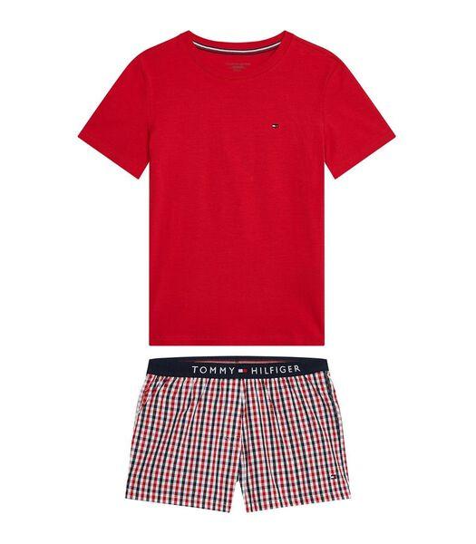Pyjama pantalon court  short set j