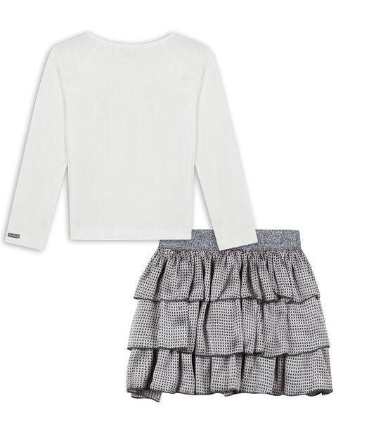 Ensemble t-shirt et jupe