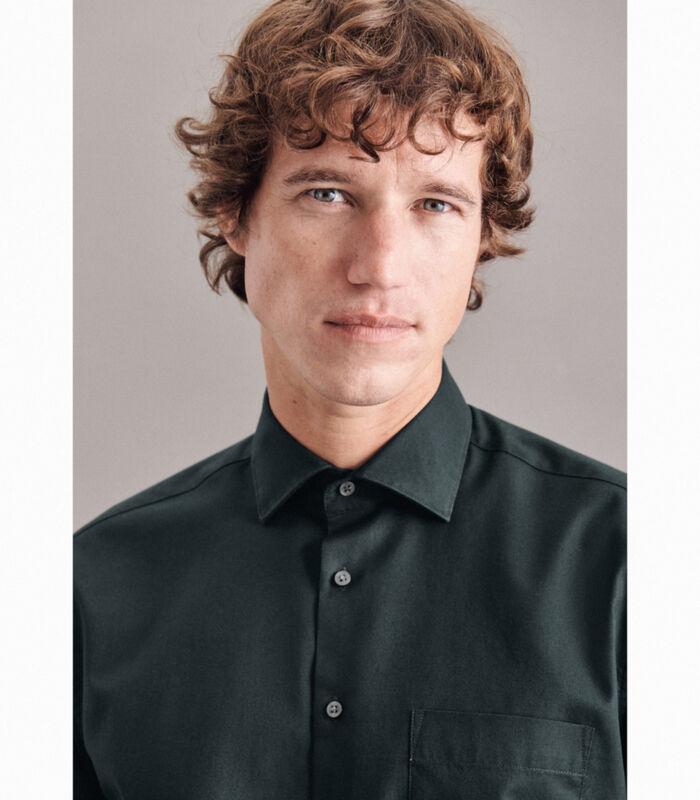 Overhemd Regular Fit Lange mouwen Uni image number 2