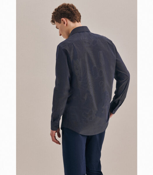 Overhemd Regular Fit Lange mouwen Stippen