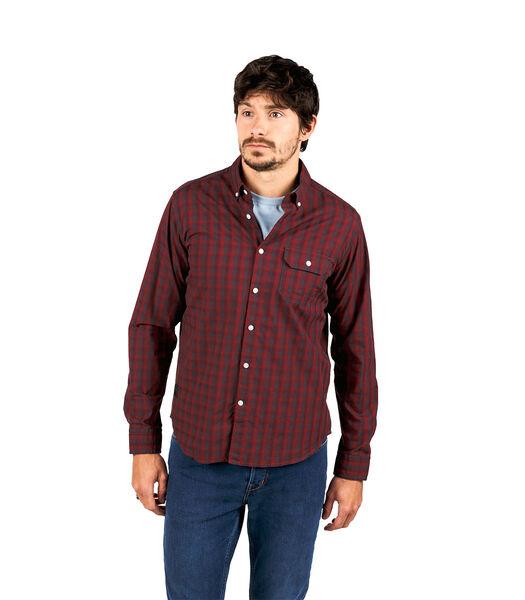 Geruit overhemd met lange mouwen CHAMMA