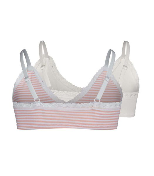 Bh topje 2 pack crop top lacy everyday m-140