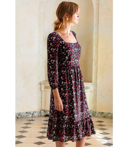 Zijden jurk Boheemse GRAND CRU