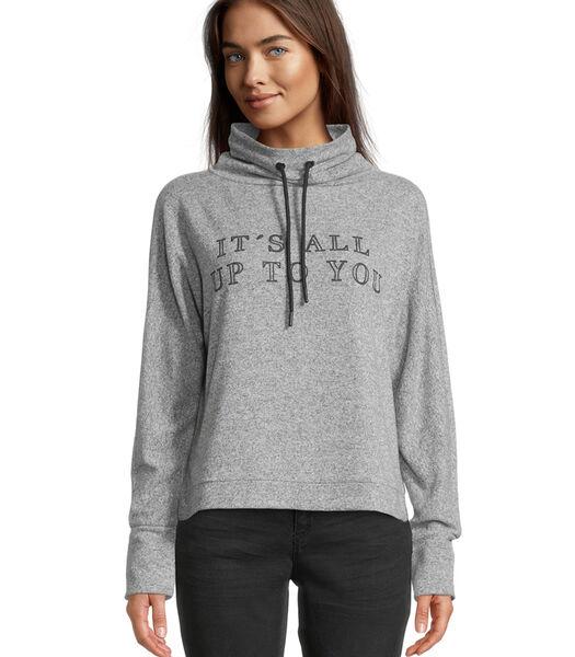 Sweatshirt met kraag