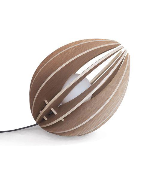 Houten design tafellamp, FEVE