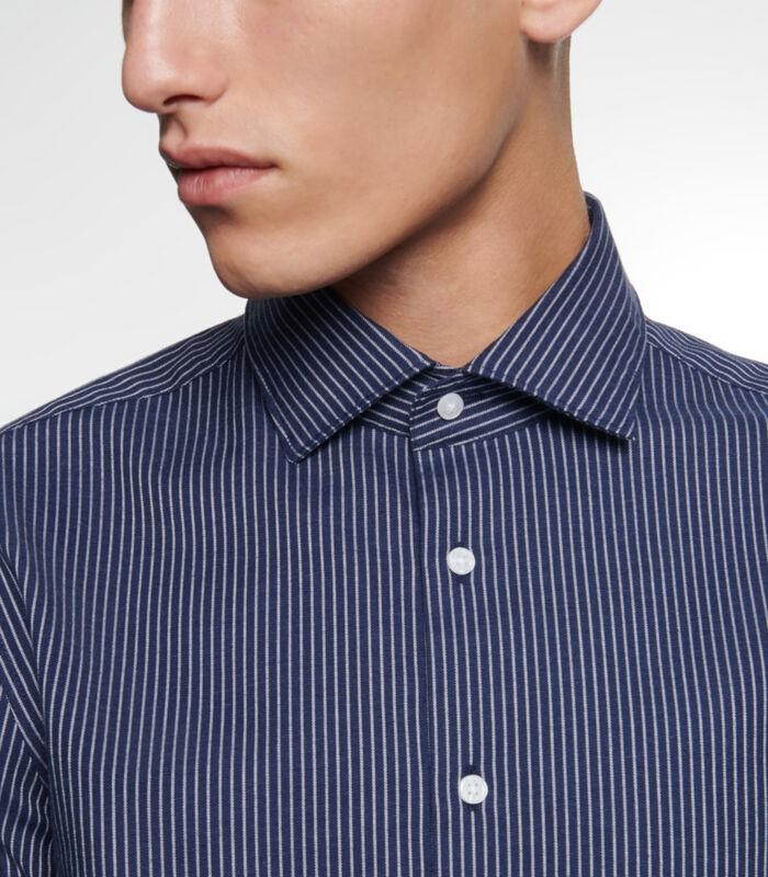 Overhemd Slim Fit Lange mouwen Strepen image number 2