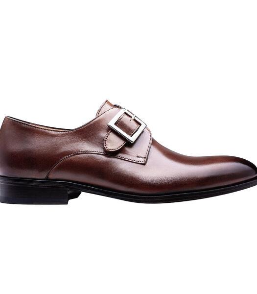 Leren Monk-schoen RICCI
