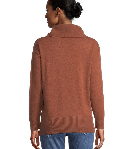 Gebreide trui Met hoge kraag