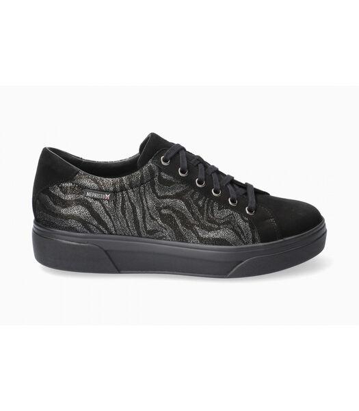 FANYA-Sneakers lakleer