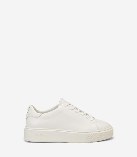 Sneakers met plateauzool met cupzool