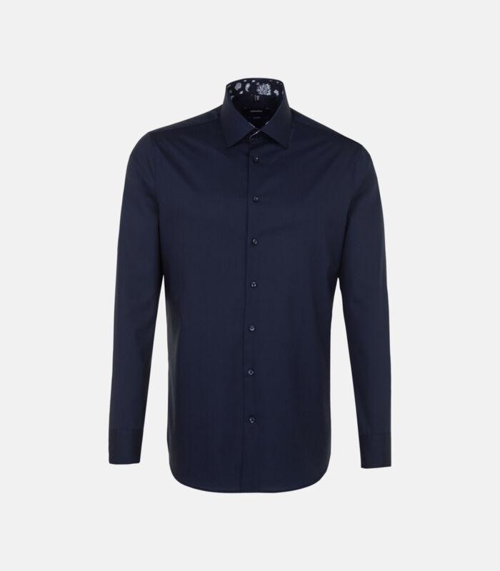 Overhemd Shaped Fit Lange mouwen Uni image number 0