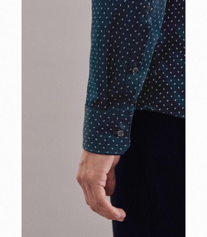 Overhemd Slim Fit Lange mouwen Print image number 3