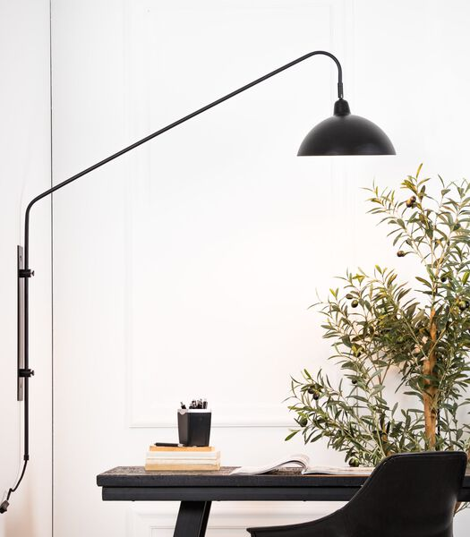 Wandlamp 110x30x127 cm ORION mat zwart