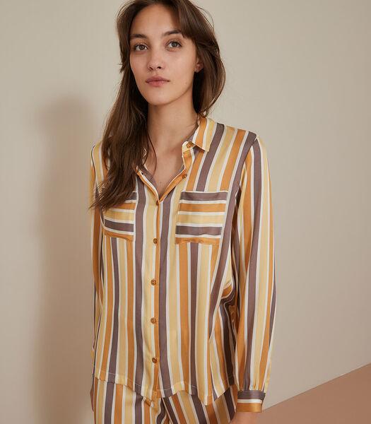 Paris Paris - Chemise homewear Satin de soie