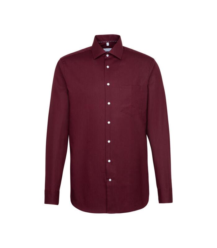 Overhemd Regular Fit Extra lange arm Uni image number 0