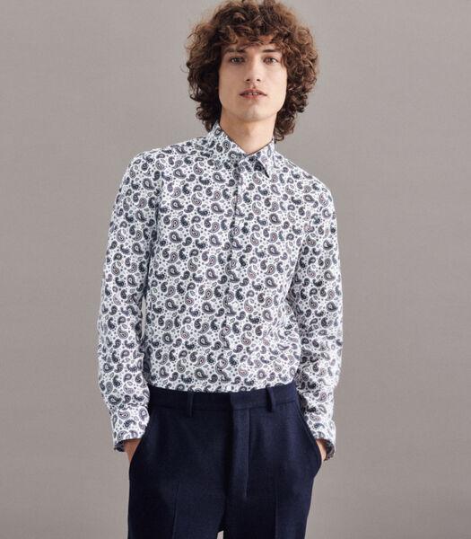 Overhemd Shaped Fit Lange mouwen Print