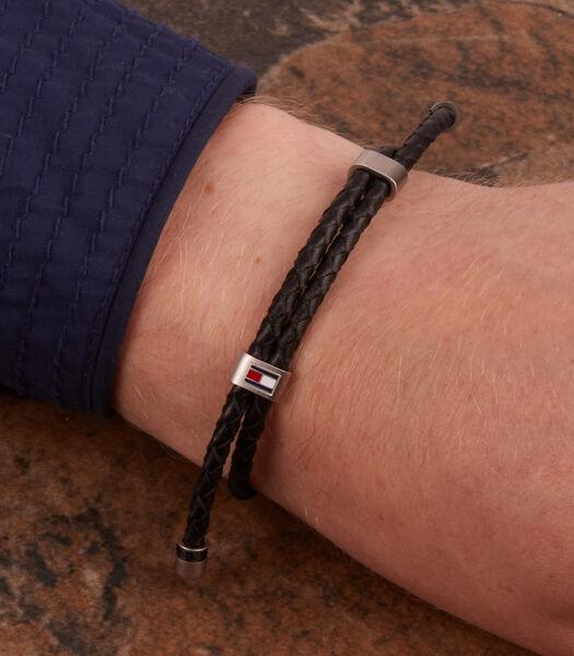 Denim Armband zwart TJ2790224