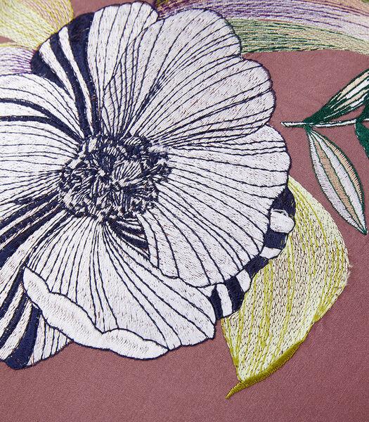 Belle de nuit - Kussenovertrek zijde coton