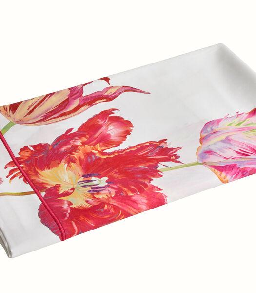 TULIPE MANIA Fuchsia - Laken Satijn katoen