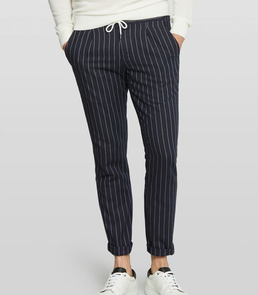 Pantalon à fines rayures Walton