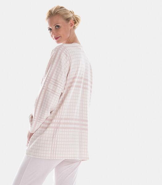 Homewear poncho katoen avrylic