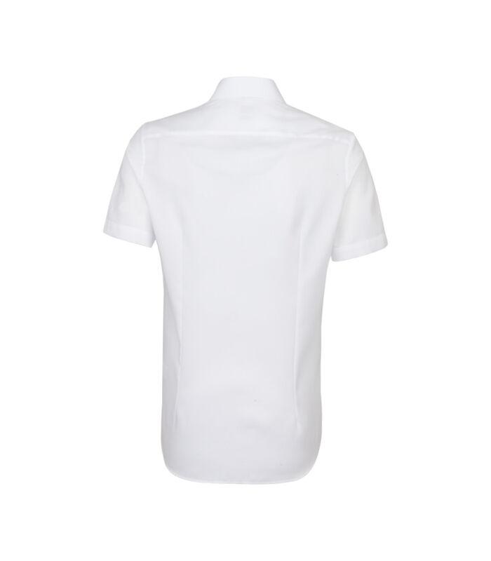 Overhemd Slim Fit Korte mouwen Uni image number 1