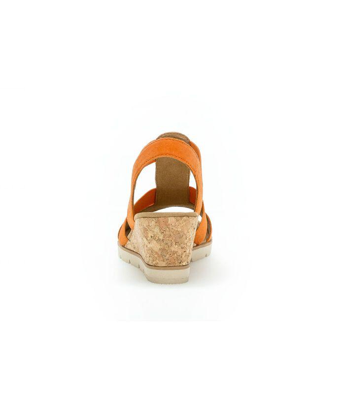 Sandalen met leren bovenlaag image number 3