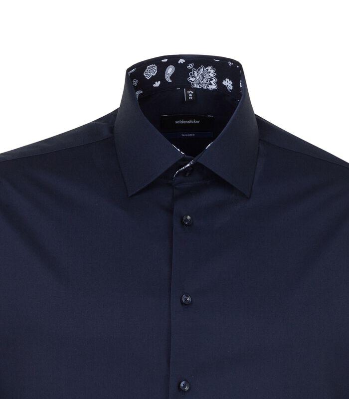 Overhemd Shaped Fit Lange mouwen Uni image number 3