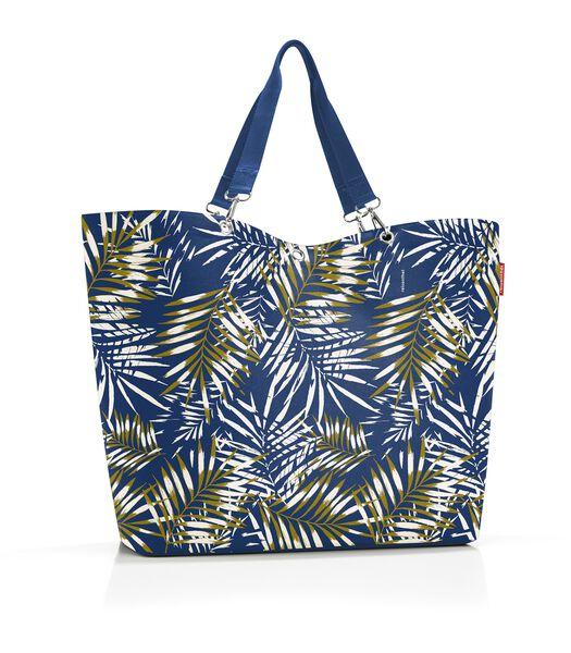 Shopper XL - Shopper - Jungle Space Blue Blauw