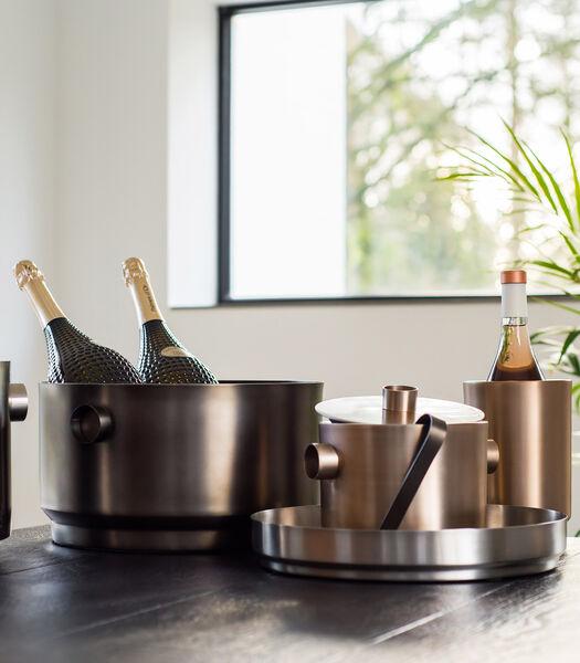 RONDO champagne emmer zwart