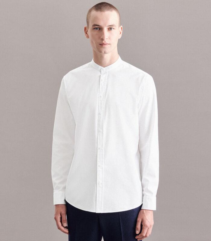 Overhemd Regular Fit Lange mouwen Uni image number 0