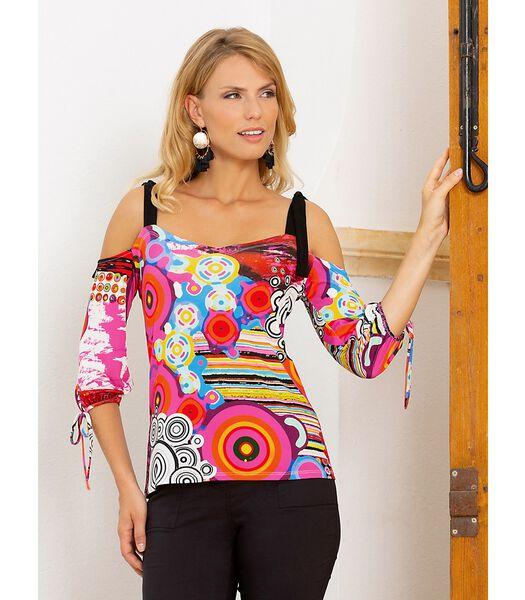 Kleurrijk T-shirt ALICANTE