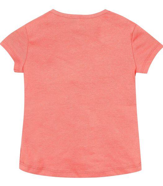 T-shirt manches courtes motif devant