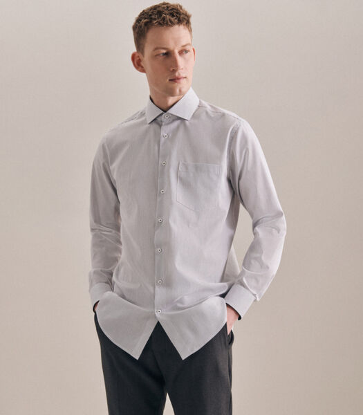 Overhemd Regular Fit Lange mouwen Strepen