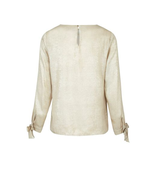 Iriserende vloeiende blouse RITZ