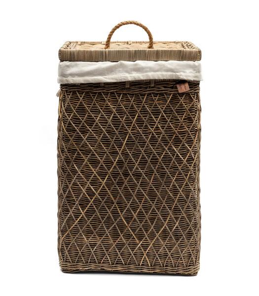 RR Diamond Weave Laundry Basket