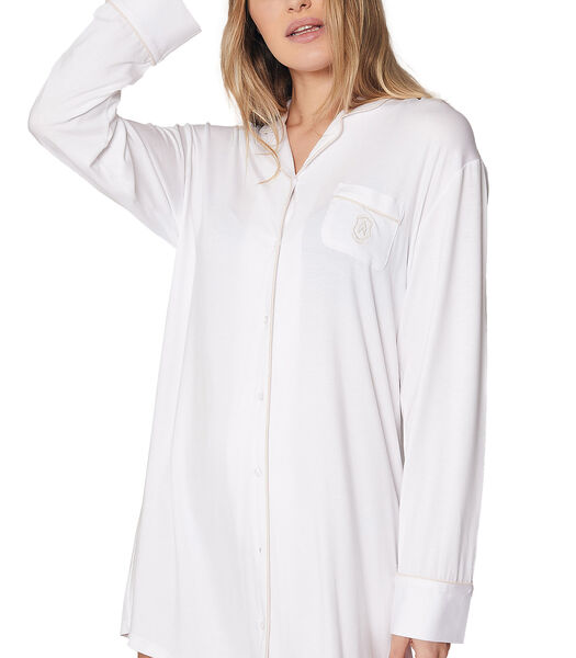 Nachthemd met lange mouwen Night Soft