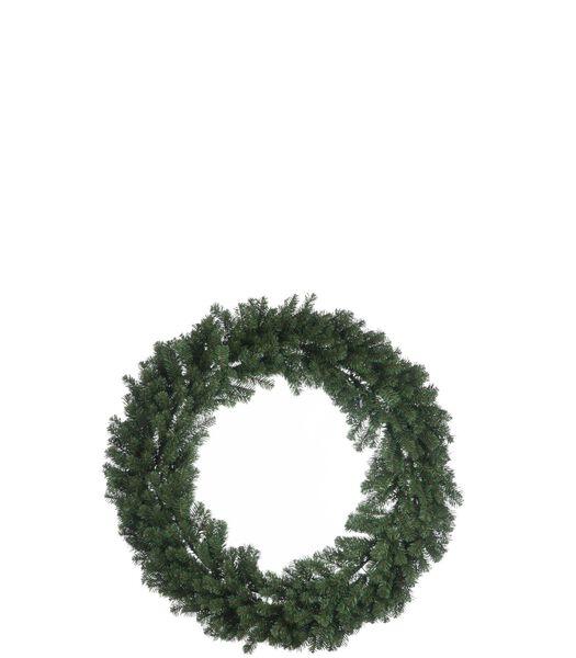 Krans Kerst Deco Plastiek Groen Extra Large