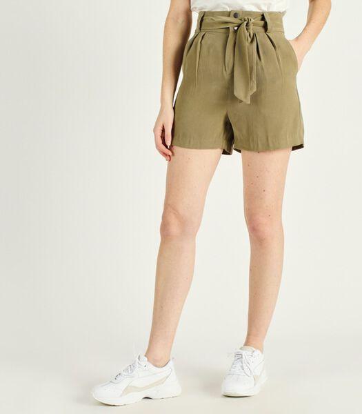 Korte broek met hoge taille MARION