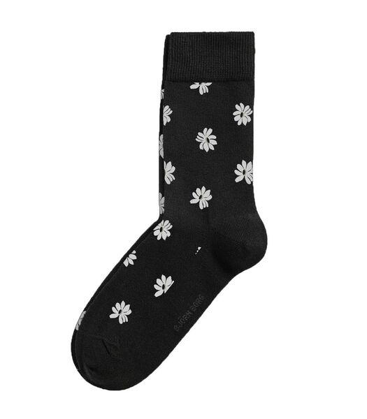Sokken core simple flower h-41-45