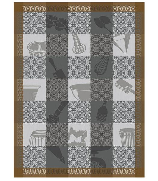 Chef pâtissier Mosaïque Torchon 60x80