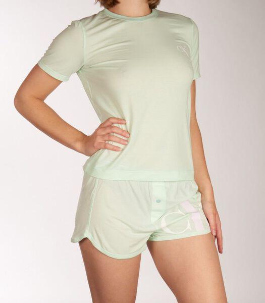 Pyjama korte broek  short set ck one d-40