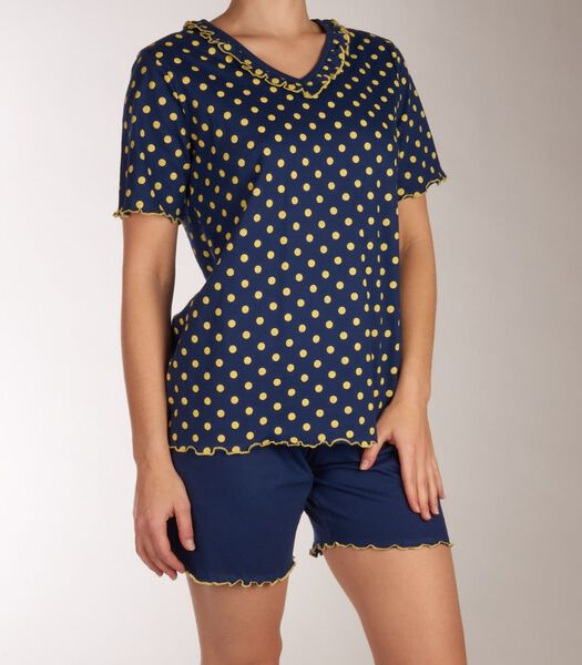 Pyjama korte broek citrus d-44